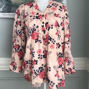 Matilda Jane Livery Millie Floral Tunic SIZE XL